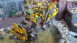 Orks vs Space Marines; 8th edition Warhammer 40k battle report