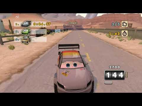 Cars: Mater-National Championship: BETA Mod Progress - BETA Otto Gameplay - Xenia Emulator