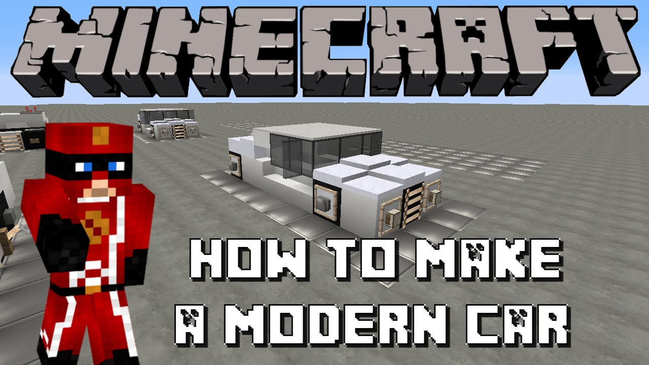 minecraft how to build a modern car youtube. Black Bedroom Furniture Sets. Home Design Ideas