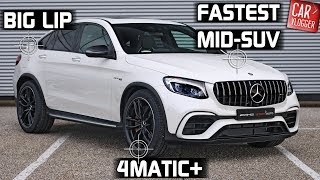 INSIDE the NEW Mercedes-AMG GLC 63 S Coupe 4MATIC+ 2018 | Interior Exterior DETAILS w/ REVS