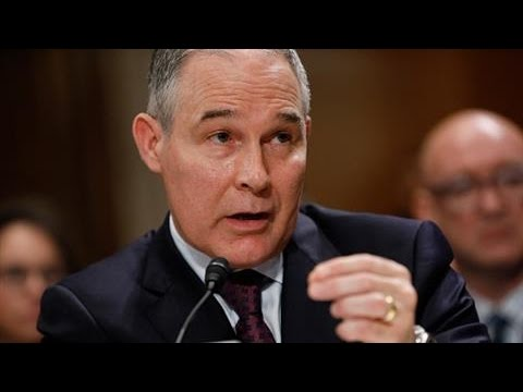Sanders Grills EPA Nominee on Climate Change