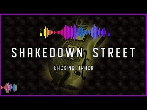 Grateful Dead Shakedown Street Guitar Backing Track Jam in C Major and C Mixolydian