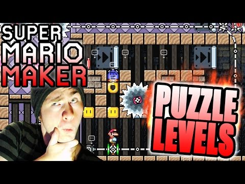 Super Mario Maker / SEANHIP Puzzle Levels [Clock Wise, Fly Trap, We Are The Champions]