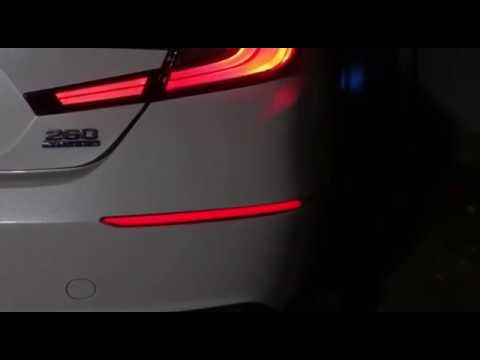 Red Lens Full LED Bumper Reflector Lights For 2018-up Honda Accord Sedan