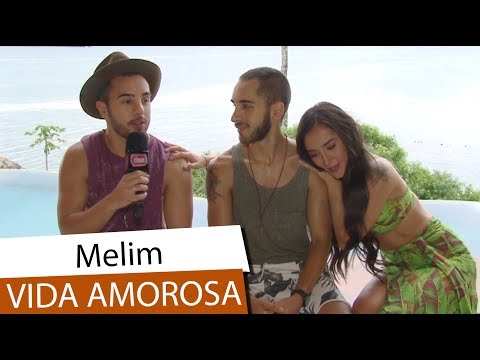 Melim abre o jogo sobre vida amorosa novo  e Vitor Kley