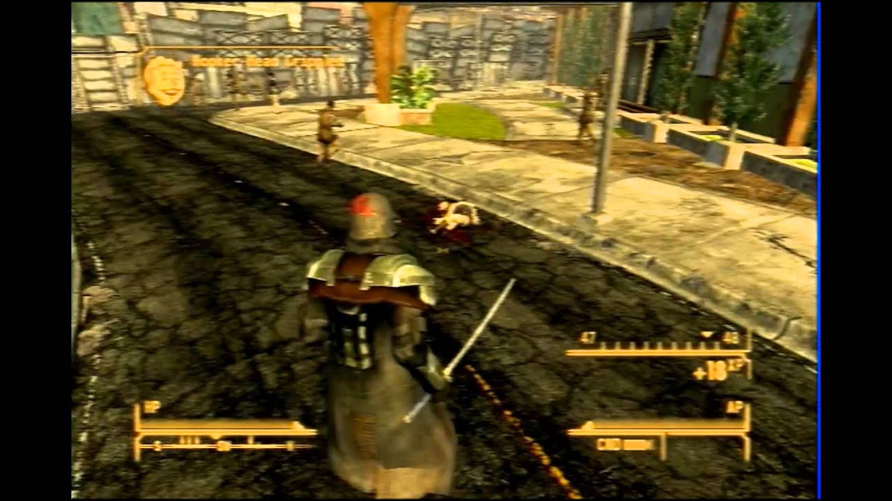 Fallout: New Vegas - Gun Runners Arsenal - Katana - YouTube