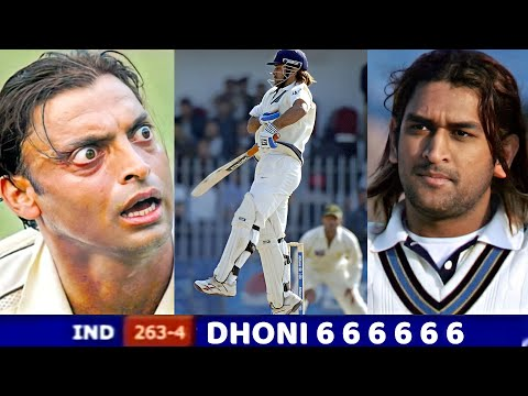 India vs Pakistan 2006,When Shoaib Akhtar messed with MS DHONI then Dhoni gave epic reply Ind vs Pak