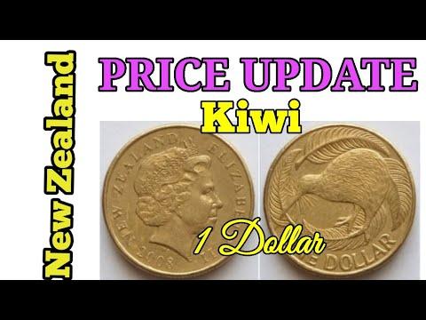 One Dollar Kiwi 2008 New Zealand Coin