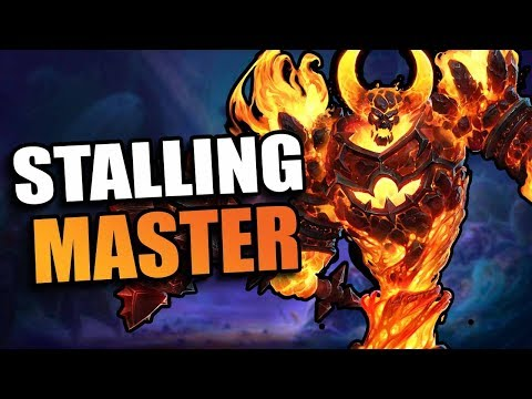 Ragnaros - stall the game! // Heroes of the Storm