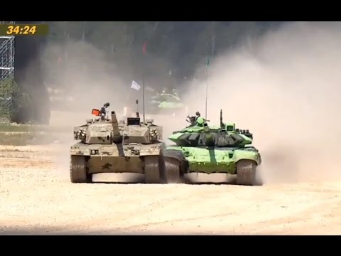 "International Army Games August 5, 2016 ""Tank Biathlon"" Day 6 Race 11 ""Chinese Cheat To Win"""