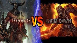 Grim Dawn VS Diablo 3 ROS -- An Honest In-Depth Look – [ Comparison Video ]