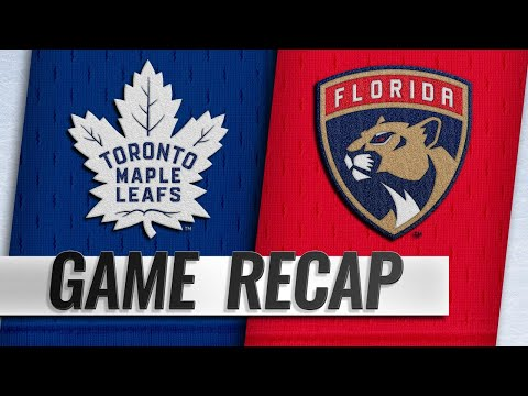 Balanced attack helps Panthers hold off Leafs, 3-1