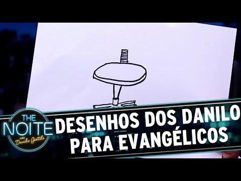 Desenhos do Danilo para evangélicos | The Noite (14/07/17)