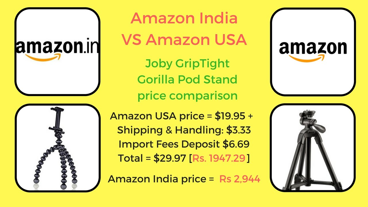 comparison between india and usa