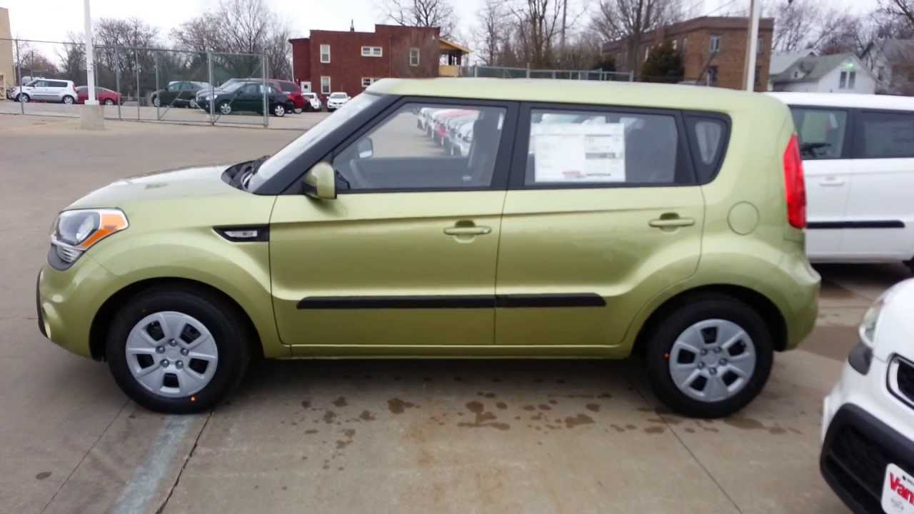 2013 kia soul alien green youtube sciox Choice Image