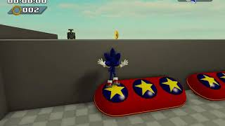 2 SONIC GAMES IN ROBLOX IN A VIDEO