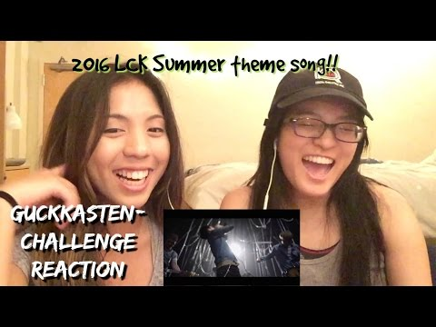 2016 LCK Summer Theme Song : Challenge (LoL X Guckkasten) Reaction