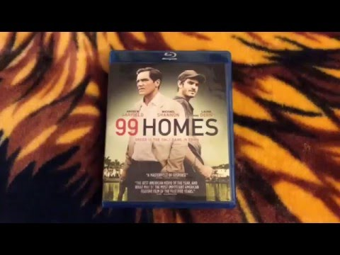 99 Homes (Best Buy Exclusive) Blu-ray Unboxing