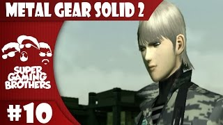 Repeat youtube video SGB Play: Metal Gear Solid 2 - Part 10 | Don't Bomb This Raiden!
