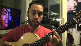 So Much to Say - Method Man Lauryn Hill Guitar Lesson Tutorial (Esteban Dias)