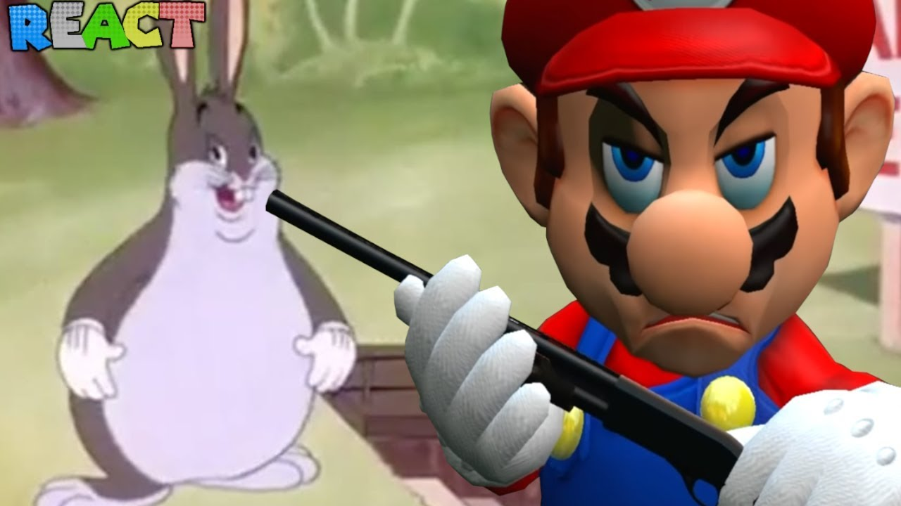 Mario Wants To Kill Big Chungus Mario S Big Chungus Hunt By Smg4