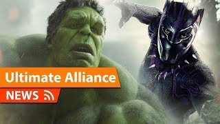 Epic Black Panther and Hulk Team-Up Scene That was Cut from Avengers Endgame