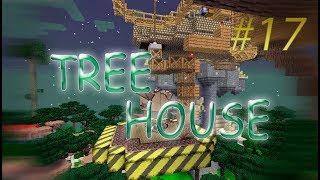 TreeHouse #17 - ЛИФТ ДЛЯ ДИРИЖАБЛЯ ИЛИ КАК СДЕЛАТЬ ЛИФТ В МАЙНКРАФТЕ - майнкрафт 1.12.2 с модами