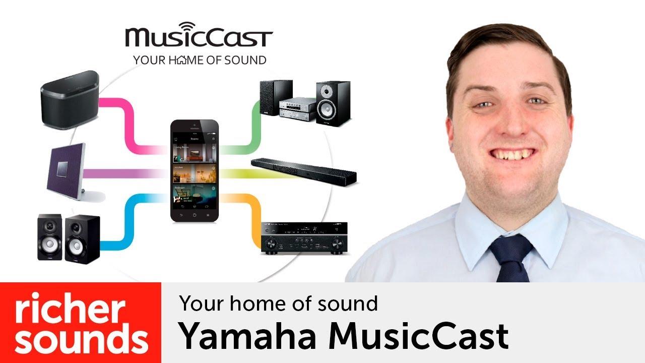 Yamaha Musiccast Wireless Multiroom System Richer Sounds Youtube