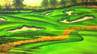 Valentino Dixon Golf Art 2013