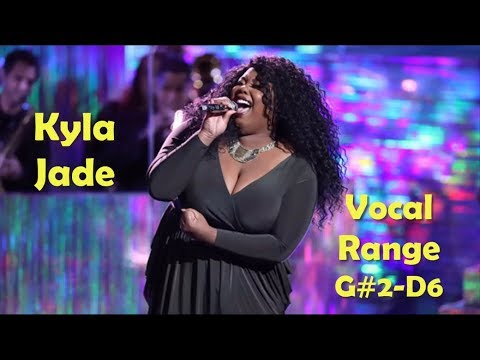 Kyla Jade The Voice   Vocal Range G#2D6