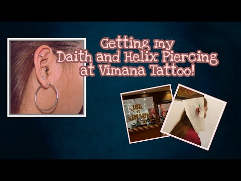 GETTING MY DAITH AND HELIX PIERCING (MASAKIT BA?) | IRLA FELICIANO (PHILIPPINES)