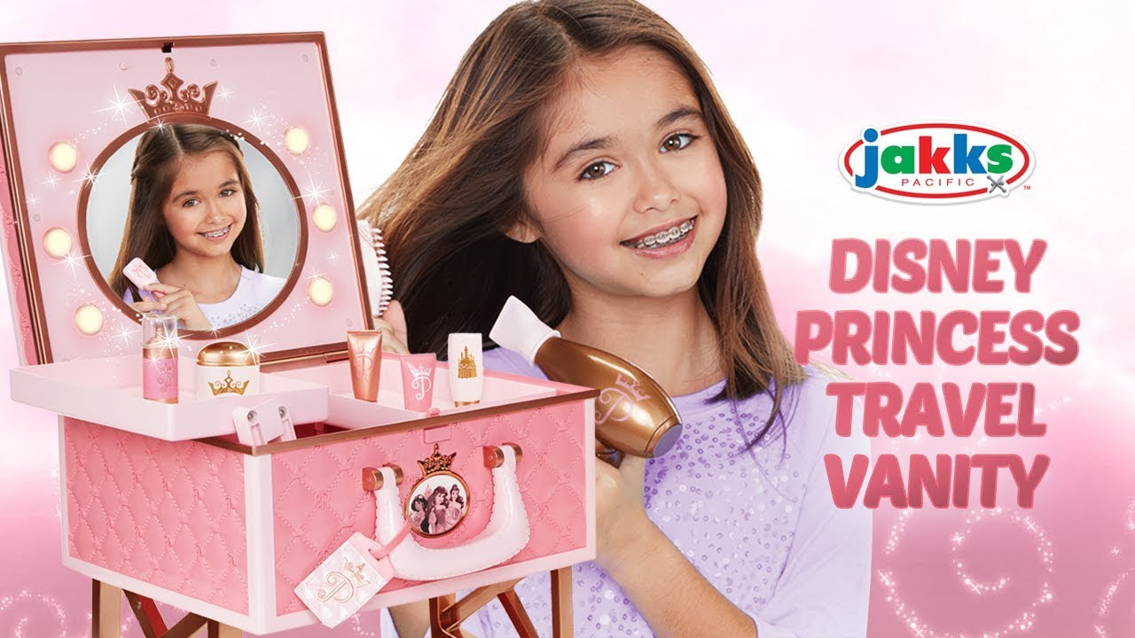 Jakks Pacific S Disney Princess Travel Vanity A Toy