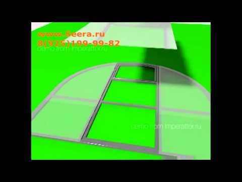 видео: Раскрой поликарбоната и сборка теплицы
