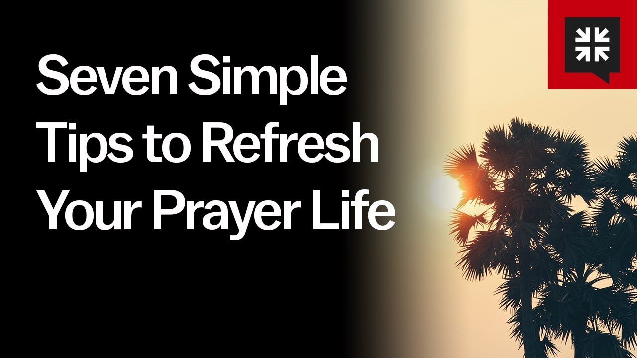 seven simple tips to refresh your prayer life ask pastor john diagram of rosary beads simple prayer diagram [ 1280 x 720 Pixel ]