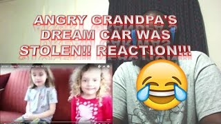 ANGRY GRANDPA'S DREAM CAR WAS STOLEN!! REACTION!!!
