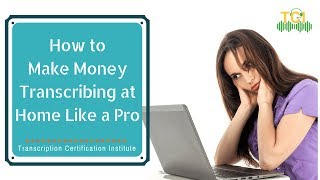Professional transcriptionists have umpteen ways to earn money online. want know what those are? this video reveals it all! get detailed insights over her...