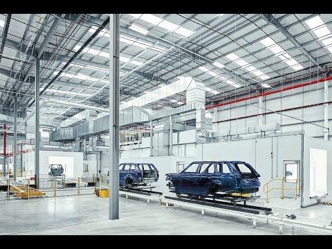 Jaguar Land Rover Oxford Road Technical Centre
