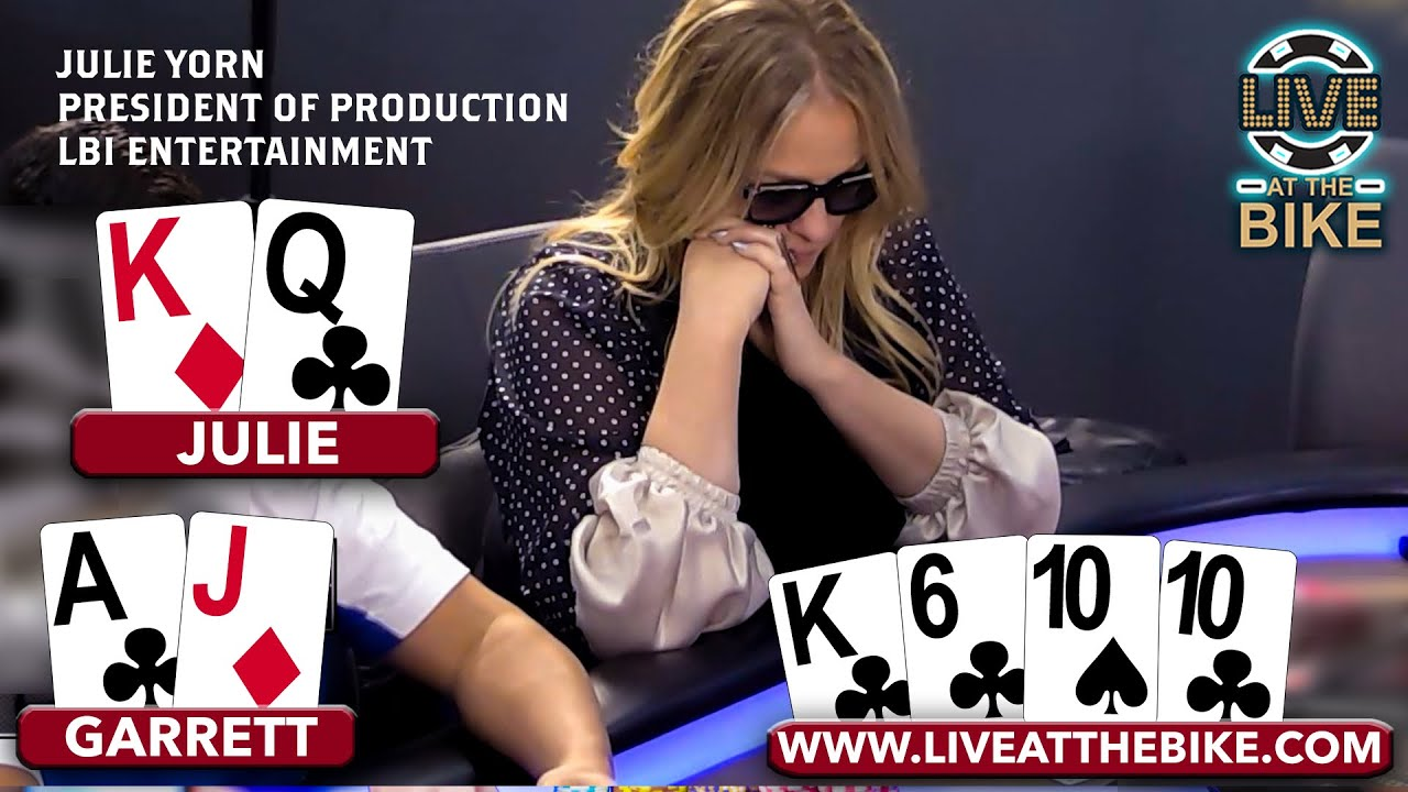 High Stakes Poker CRUSHED by Oscar Nominated Producer Julie Yorn ♠ Live at the Bike!