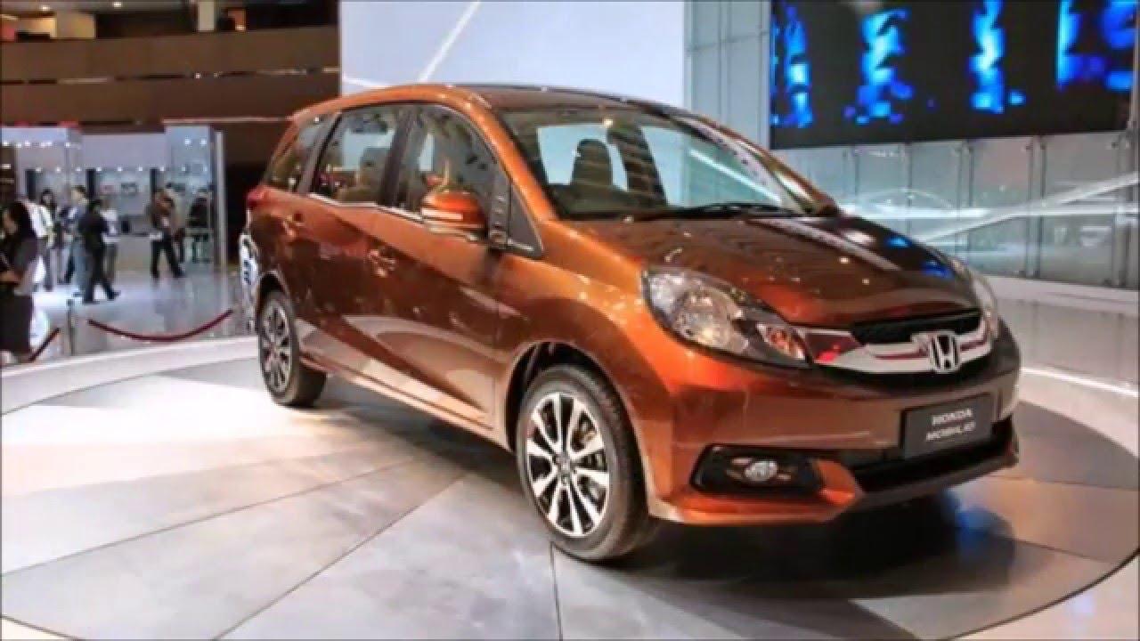 All New 2016 Honda Mobilio Interior Exterior 7 Seaters Suv Car