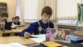 Урок Русского языка. Проводится студентами