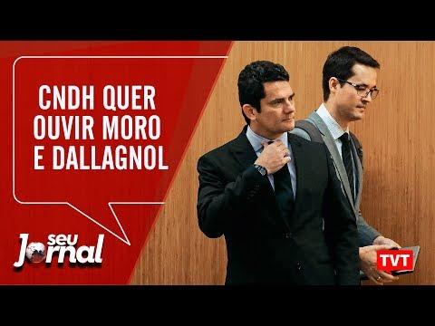 🔴Após visitar Lula, CNDH quer ouvir Moro e Dallagnol | Temer admite golpe - Seu Jornal 17.09.19