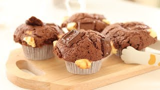 Cream Cheese Chocolate Muffin|HidaMari Cooking