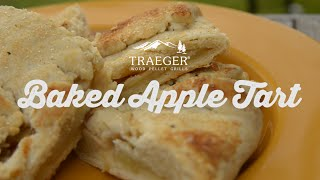 Baked Apple Tart Dessert Recipe By Traeger Grills