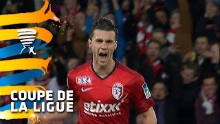 But Sébastien CORCHIA (9') / LOSC Lille - FC Nantes (2-0) -  (1/4 de finale) (LOSC - FCN) / 2014-15