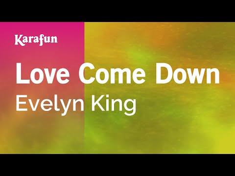 Karaoke Love Come Down - Evelyn King *
