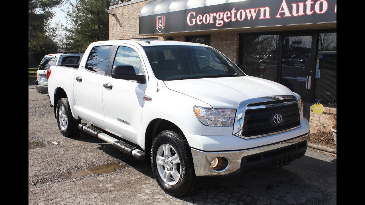 Used Like New 2012 Toyota Tundra 4x4 Sr5 For Sale