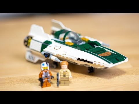 LEGO Star Wars Resistance A-Wing Review - 75248