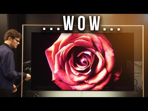 The THINNEST 4K TV We've Seen! LG Signature W7