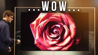 The THINNEST 4K TV We've Seen!…