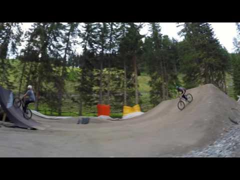 Bike Park Davos Färich - one shot by FlyingMetalCrew